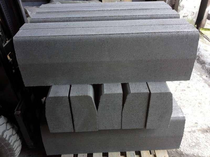 Установка дорожного бордюрного (бортового) камня