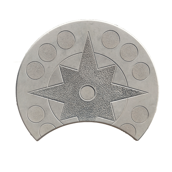 Плитка «Коло Полумесяц» Размер: 250х250х45;