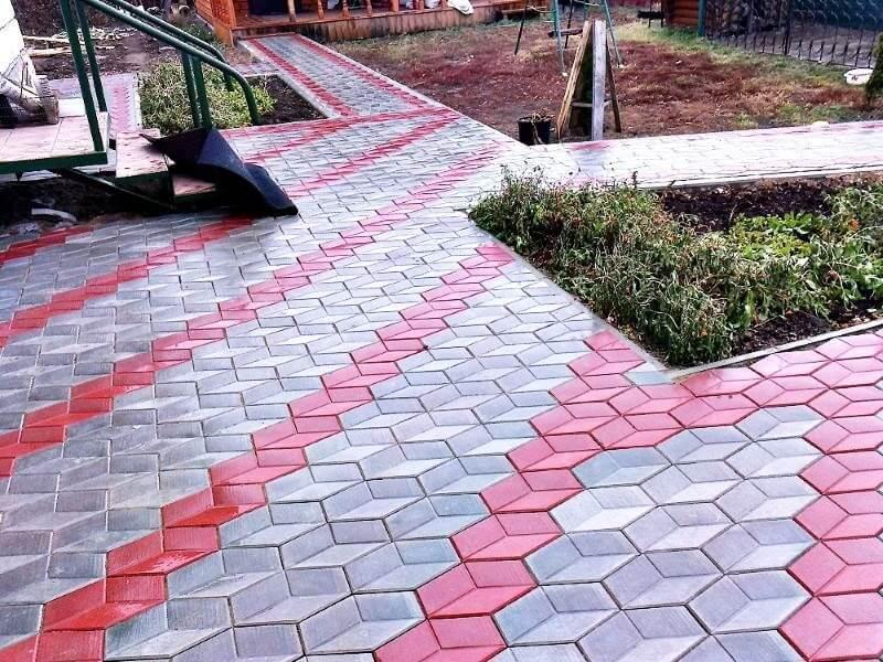 Укладки тротуарной плитки в Москве